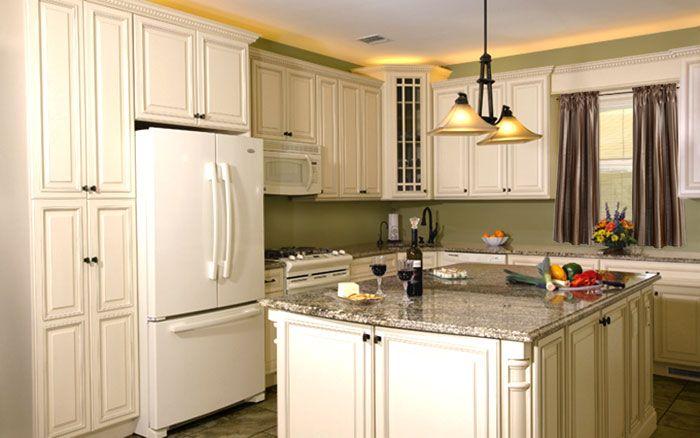 Fabuwood Wellington Ivory Glaze In-Stock Kitchen Cabinets ...