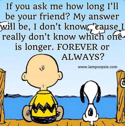 Peanuts Quotes About Friendship.