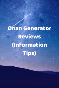 Onan Generator Reviews (Information Tips) in 2020 Onan