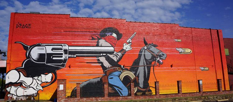 badlands by d face from the united kingdom fort smith murals