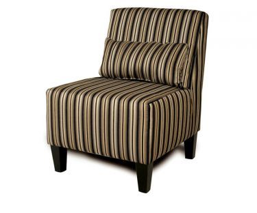 Armless+Accent+Chair+with+Matching+Kidney+Pillow