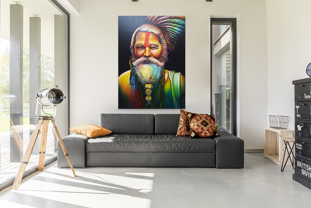 Groot Schilderij Woonkamer : Zoekt u een uniek groot schilderij voor in uw woonkamer
