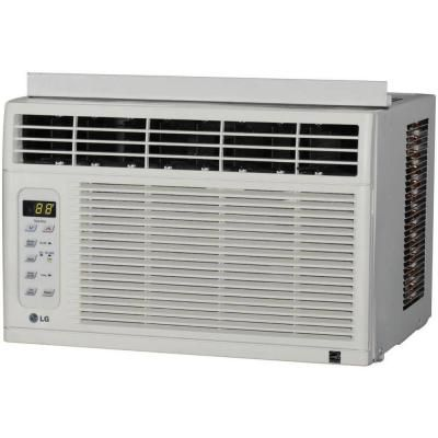 Lg Electronics 6 000 Btu 115v Window Air Conditioner With Remote Lw6012er The Home Depot Window Air Conditioner Window Air Conditioners Air Conditioner