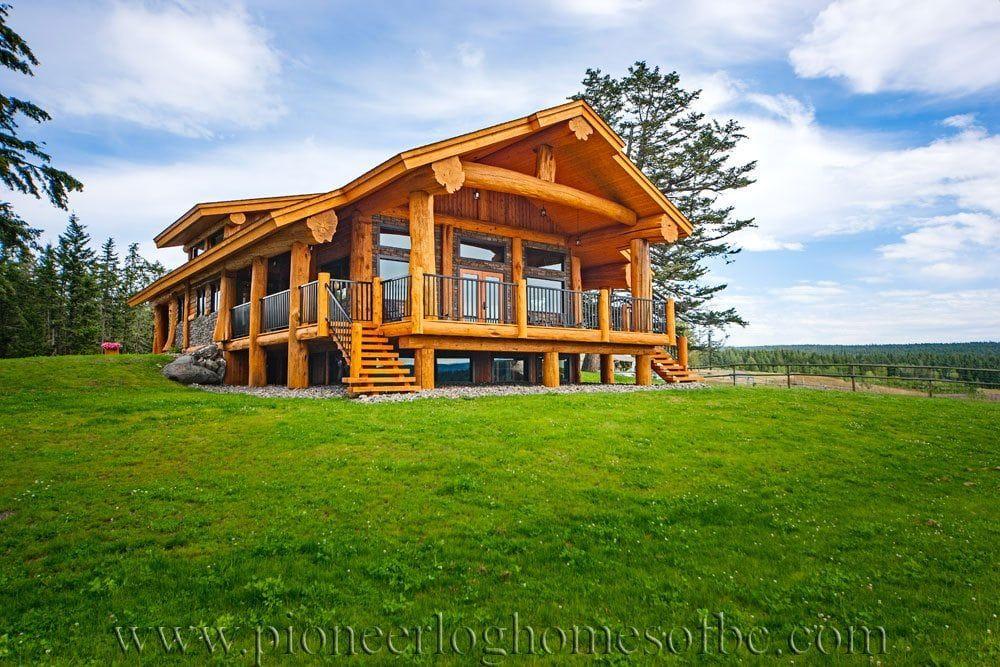 The Green Gable Timber Frame Home Village House Design Prefab Homes House Blueprints