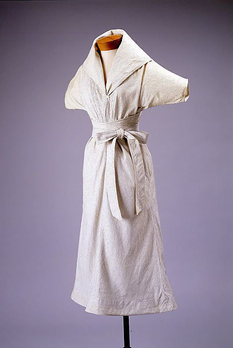 Dress  Claire McCardell  (American, 1905–1958)  Manufacturer: Townley Frocks (American) Date: 1948–53 Culture: American Medium: cotton