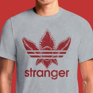 5fe355f4e Stranger Things Adidas T-Shirts India Funny Quotes T Shirts Online Shopping  Graphic Funky Printed Cool Tees For Mens Slogan Womens Clothing Casual  Round ...