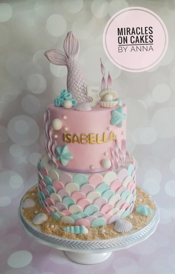 Under The Sea By Miracles On Cakes By Anna Cupcakes In