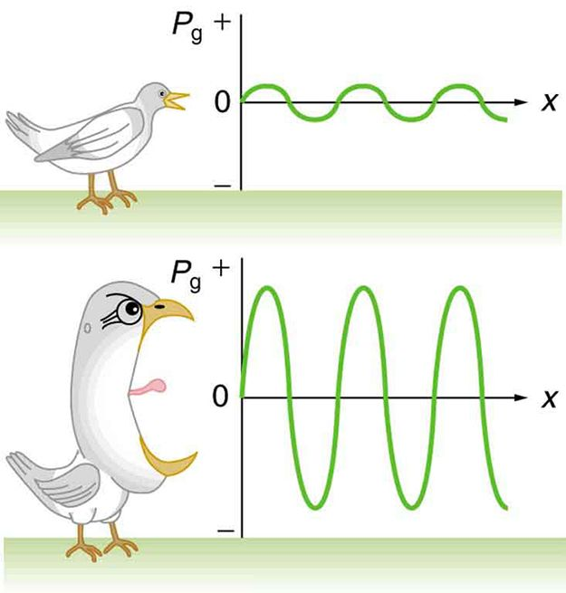 004 Graphic exemplifying how birds have to sing louder and