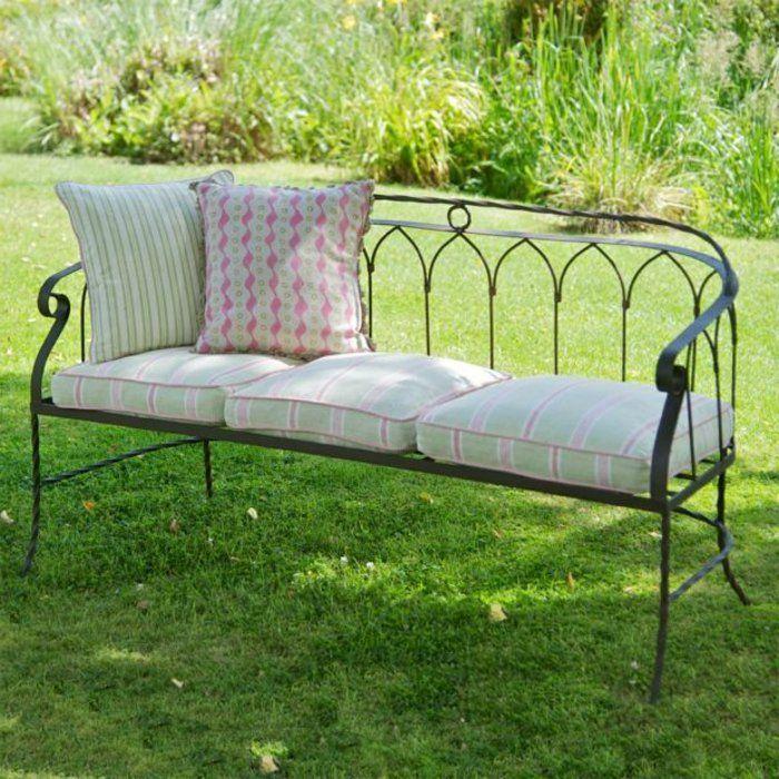 Voici nos exemples pour un banc de jardin. | Jardin | Banc jardin ...