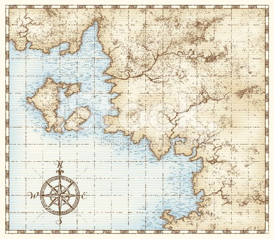 vintage nautical map vector - Google Search Trouwen Pinterest - fresh world map with all countries vector