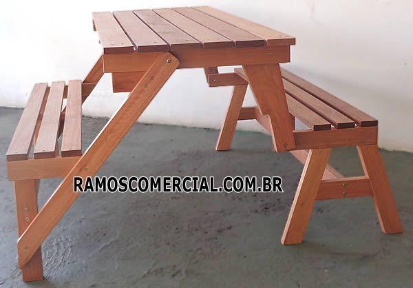 Banco Vira Mesa Com Imagens Moveis De Madeira Reciclada