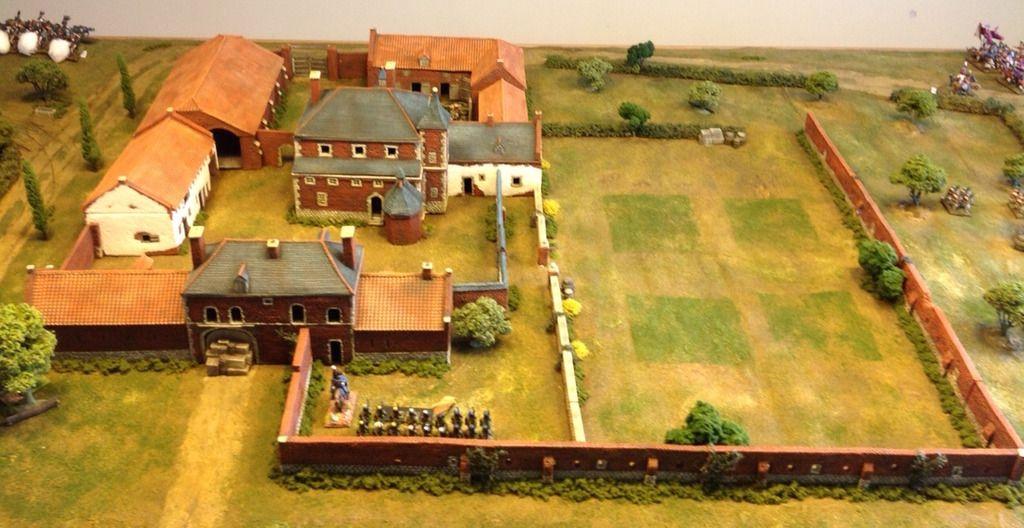 Hougoumont Battle Google Search Waterloo Battlefield Waterloo