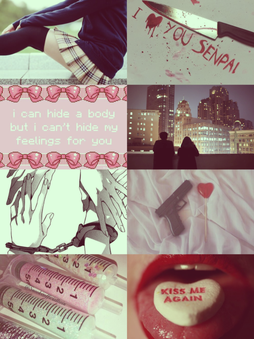 Hipster Girl Wallpaper When I M Yandere Yandere Aesthetic Collage Yandere