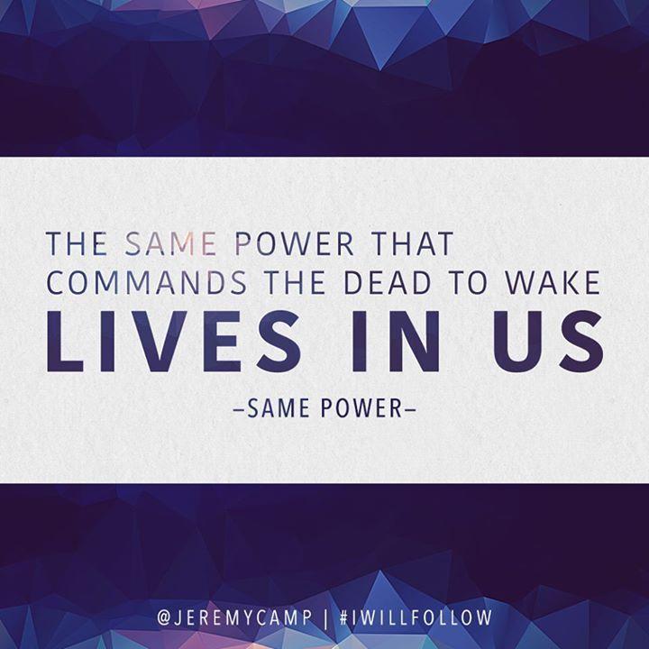 Lyric lyrics to same god : Same Power