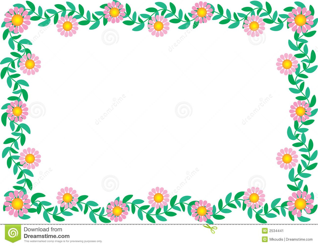 Daisy border download from over 30 million high quality stock daisy border download from over 30 million high quality stock photos images vectors sign up for free today image 2534441 izmirmasajfo