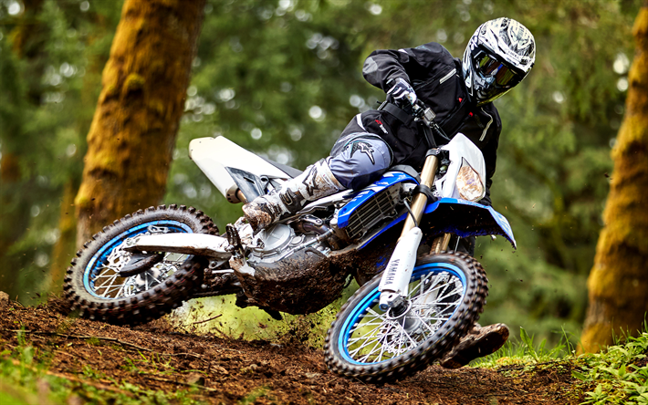 Descargar Fondos De Pantalla Yamaha WR450F, 2018 Motos