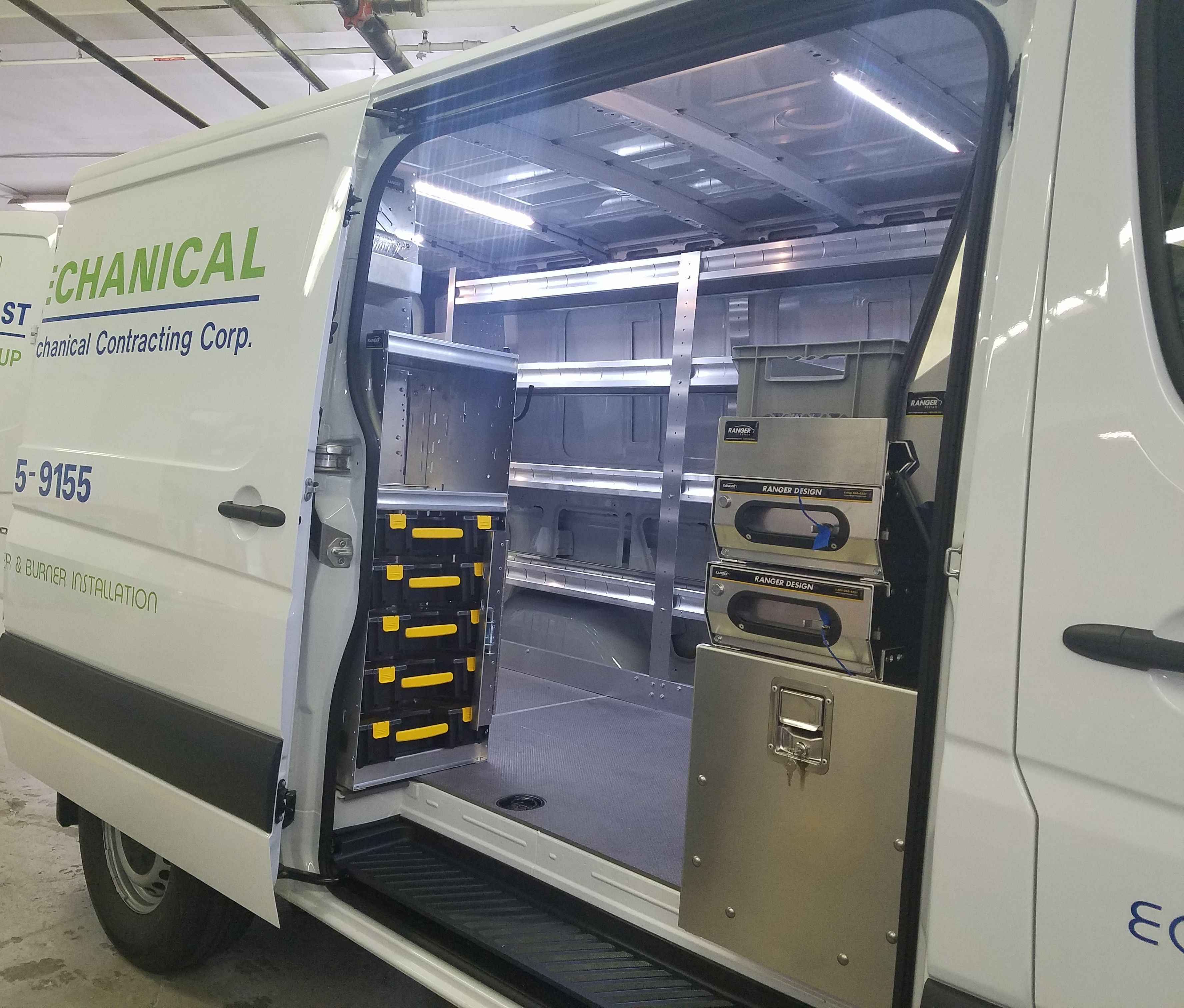 Check Out Our Van Storage Drawers And Accessories For Cargo Work