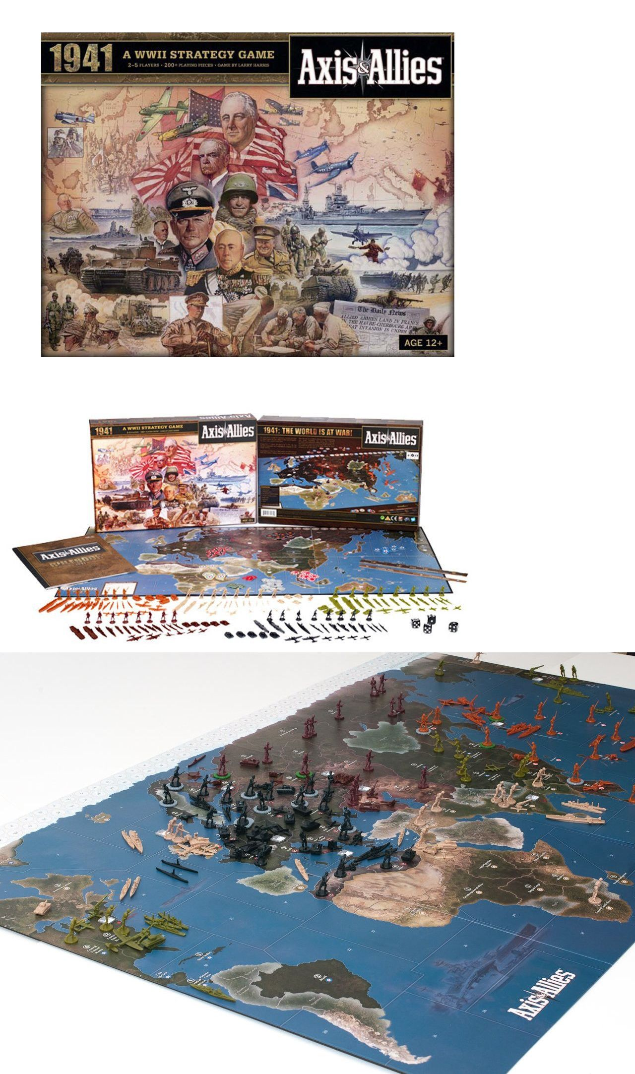 Axis and Allies 158731 Axis And Allies 1941 The World Is