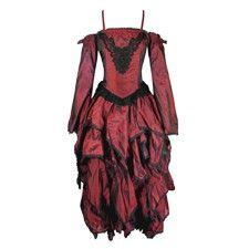 Red Open Shoulder Dress