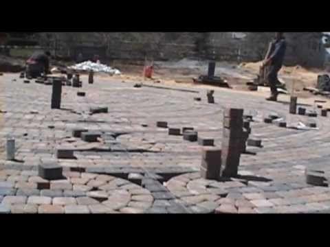 labyrinth in process Chatham, MA