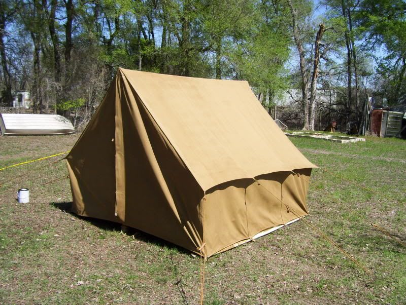 Click this image to show the full-size version. Canvas TentVintage ... : old style canvas tents - memphite.com