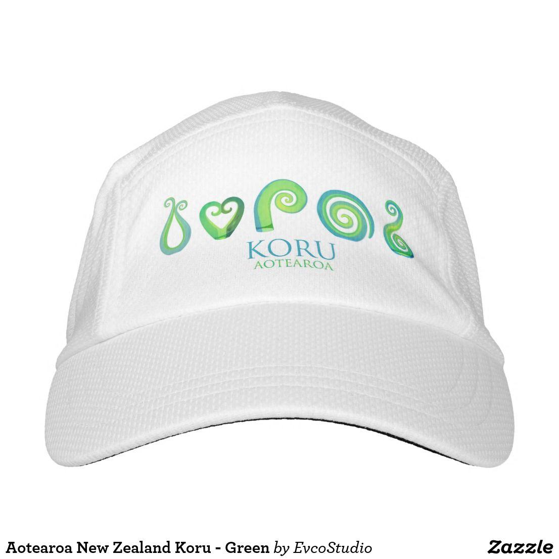 Aotearoa new zealand koru green purple hats hats purple