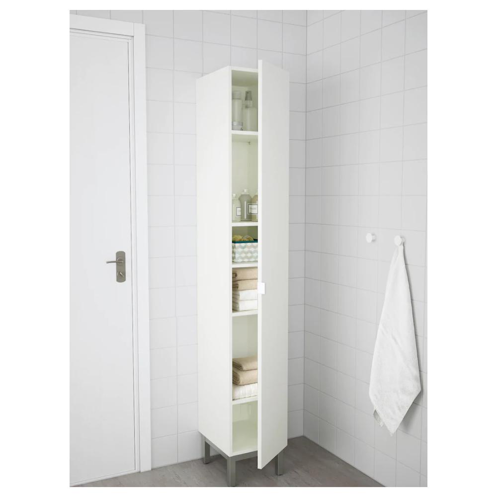 Lillangen High Cabinet White 11 3 4x15x70 1 2 Ikea In 2020 Bathroom Design Ikea Bathroom Tall Cabinet
