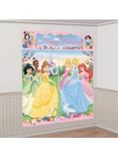 Disney Princess Scene Setters - Party City Perfect backdrop for pictures of the girls <3