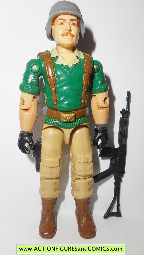 1986 GI JOE HAWK Accessories V1