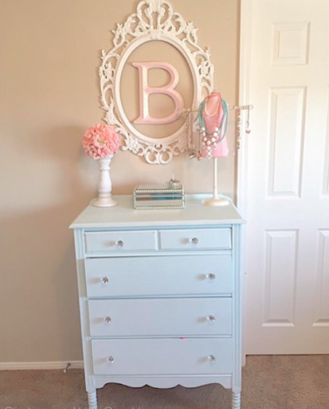 Vintage Bedroom Makeover Ideas: Tween Girl Bedroom Makeover