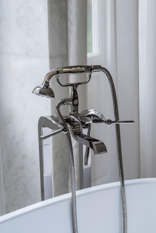 Stylish and elegant, these beautiful bath taps add a twist ...