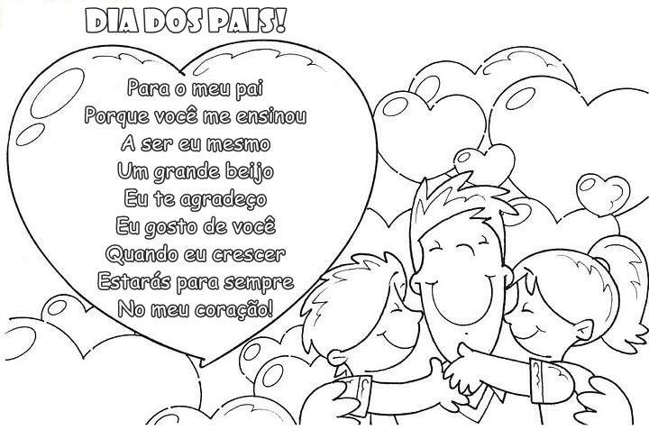 Cartoes Para O Dia Dos Pais Para Imprimir Blog Cantinho