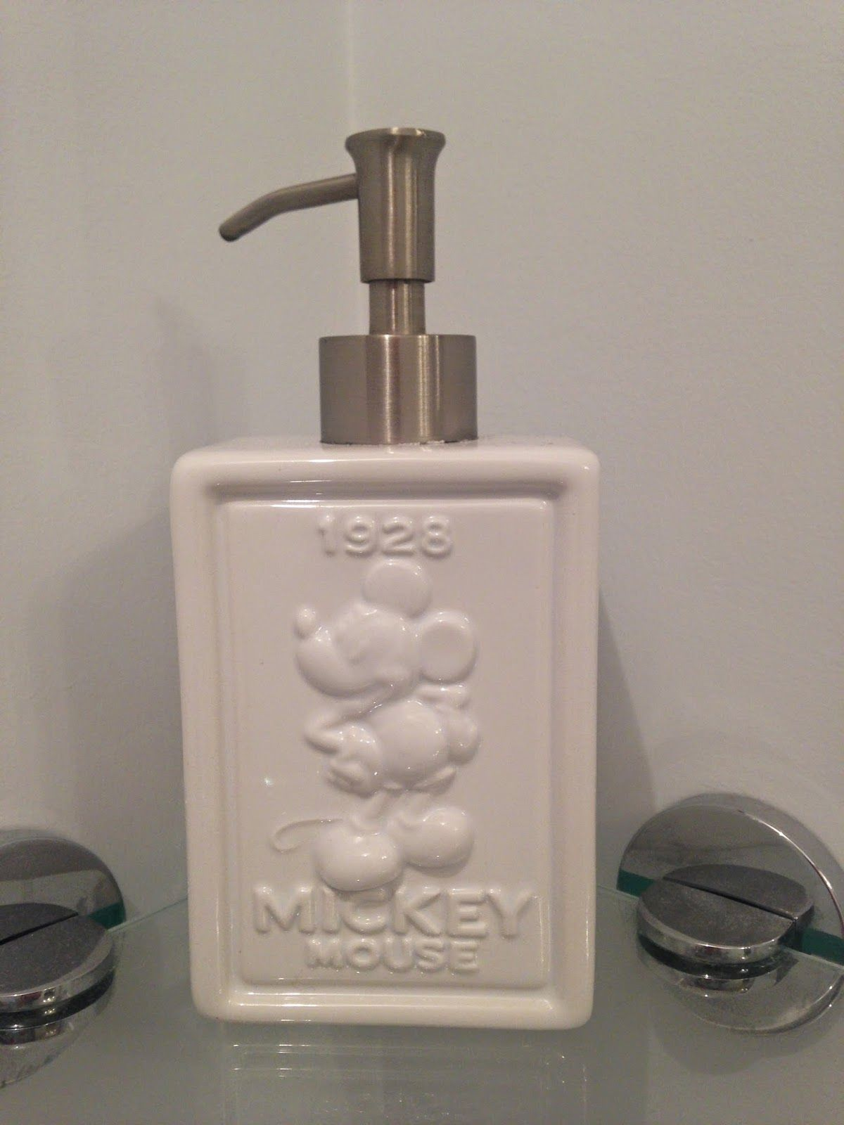 Bringing some disney decor to your home - Mickey Mouse soap ...