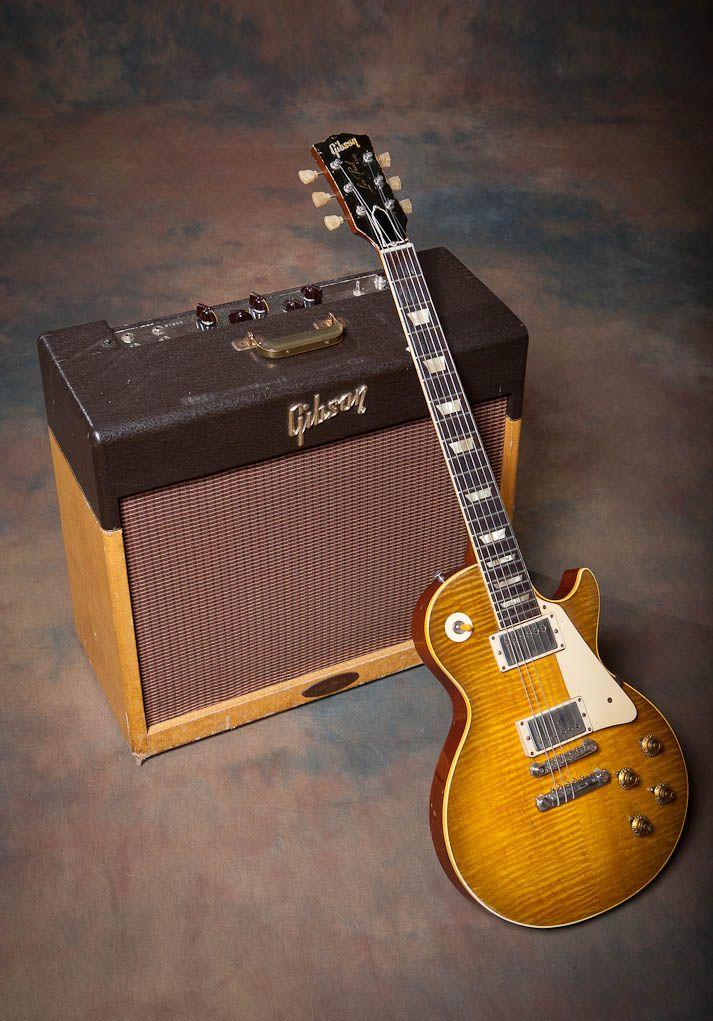 Guitar And Amp Of The Week #45 - 1959 Gibson Les Paul Standard & 1958 GA-40 Les Paul Amp