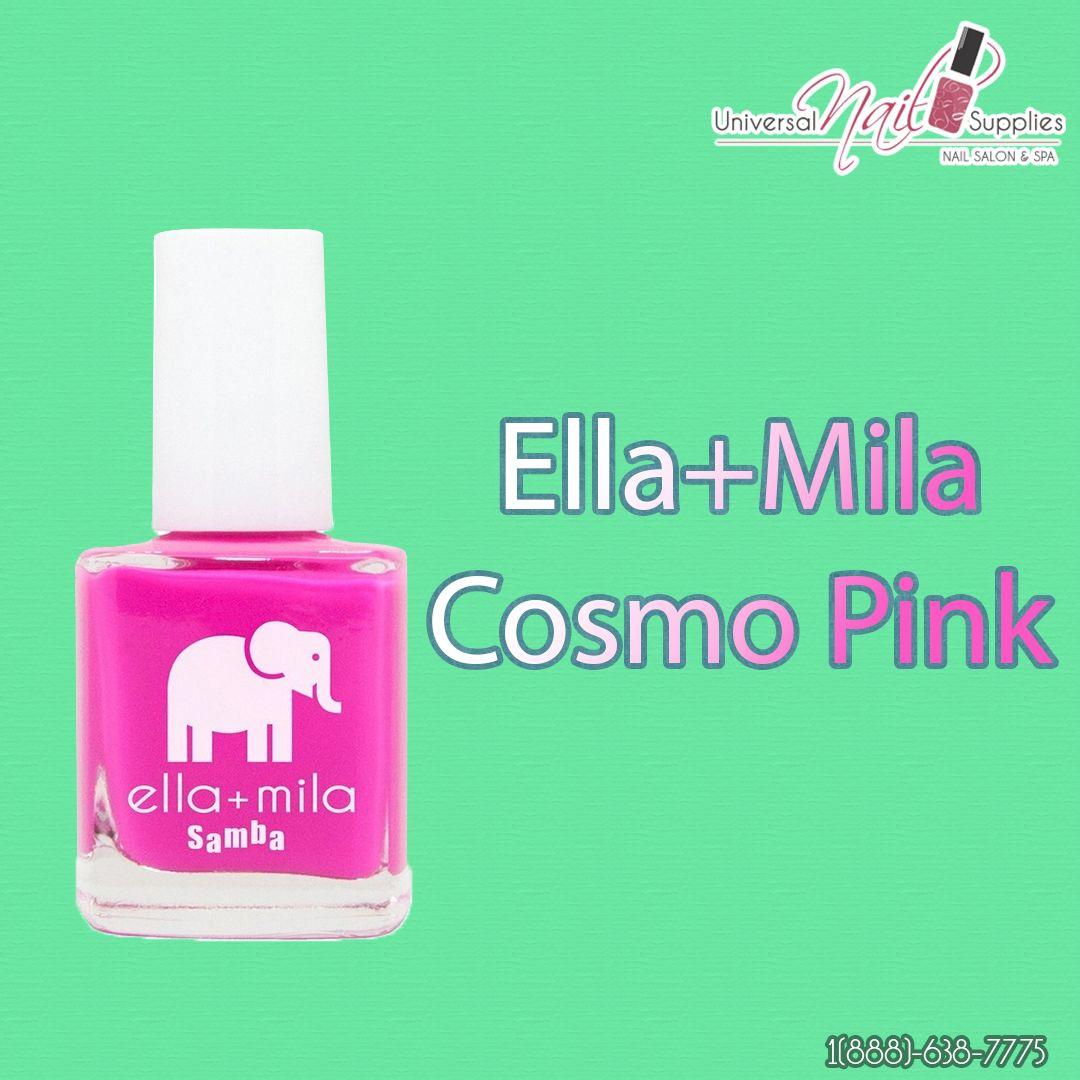 Ella+Mila Nail Polish With Love - Cosmo Pink #M102 0.54 oz 16 mL ...