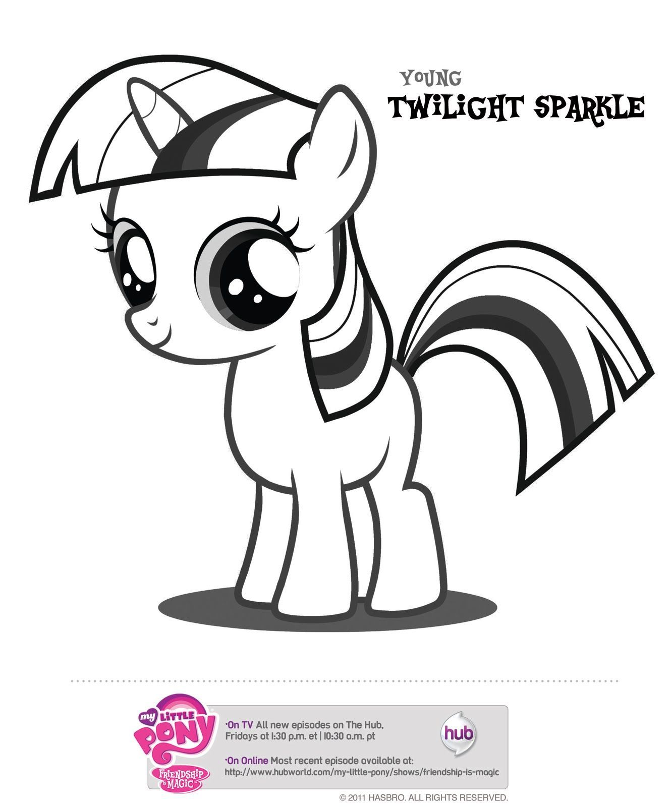 My Little Pony Pictures To Print And Color