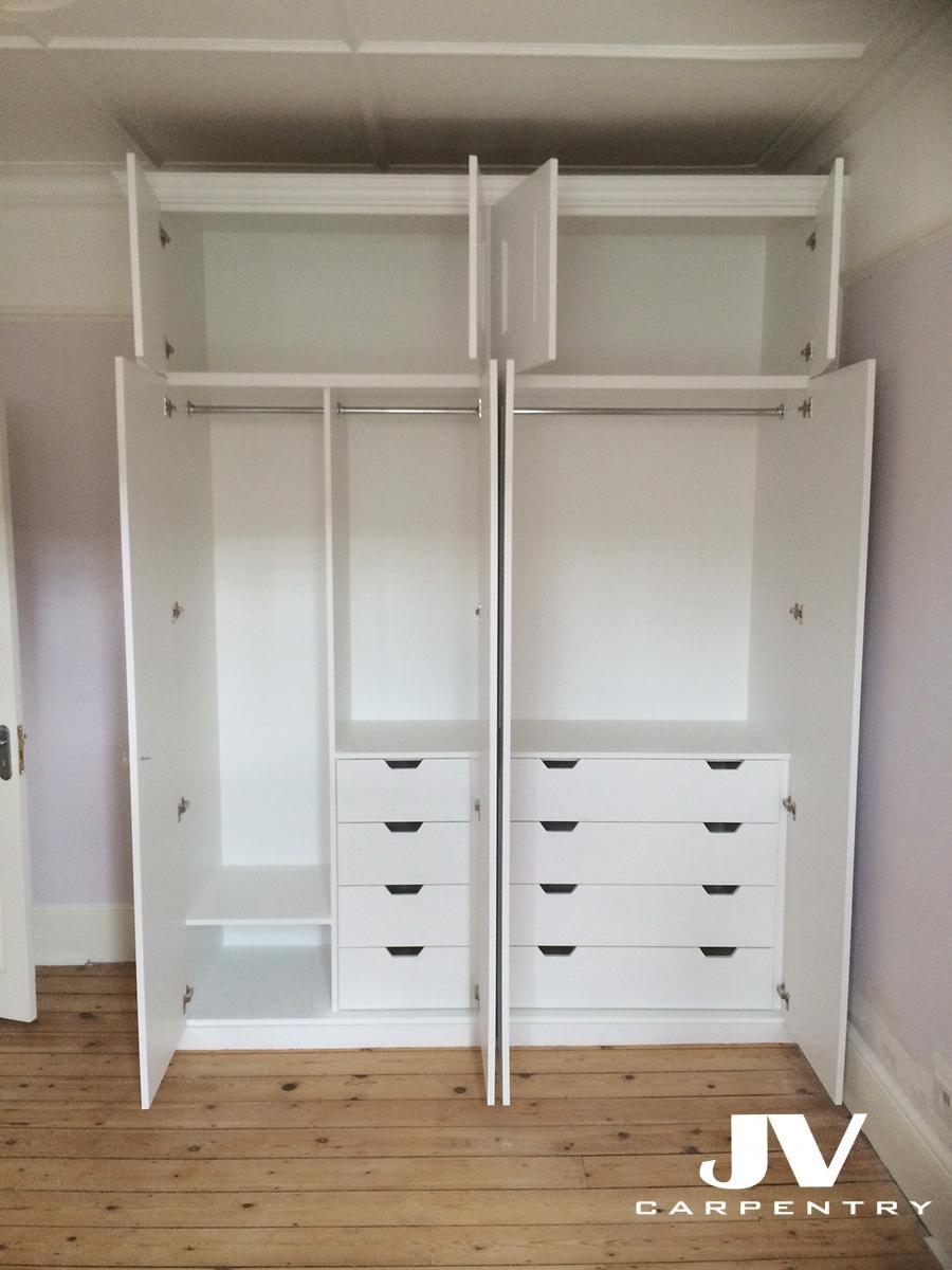 Built In Wardrobes Interior Ideas Diseno De Armario Closet Para