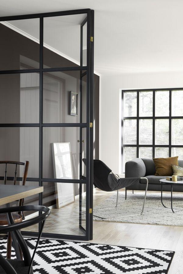 Como separar ambientes con paredes de cristal | Interiores ...