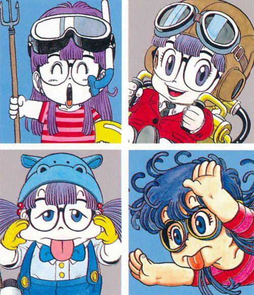 arale chan character design z arts akira