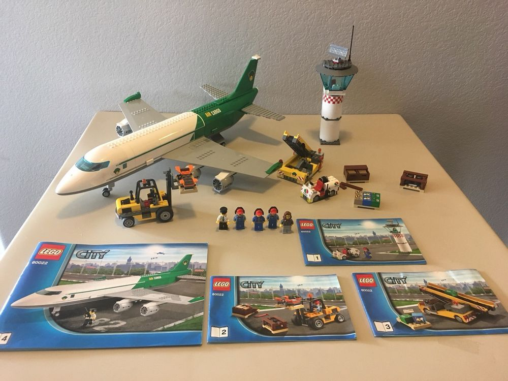 Lego City Cargo Terminal Set 60022 100 Complete With Instructions