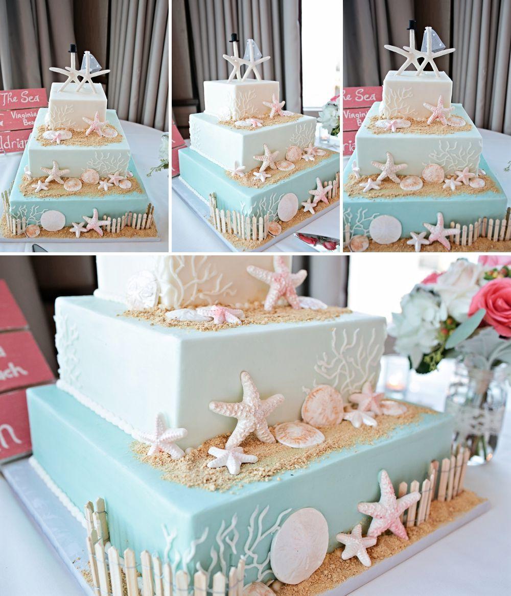 Beach Wedding Cakes 10 Best Photos Beach Wedding Cakes Beach