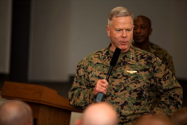 Days before Marine Corps Commandant Gen James Amos is set to - marine corps resume