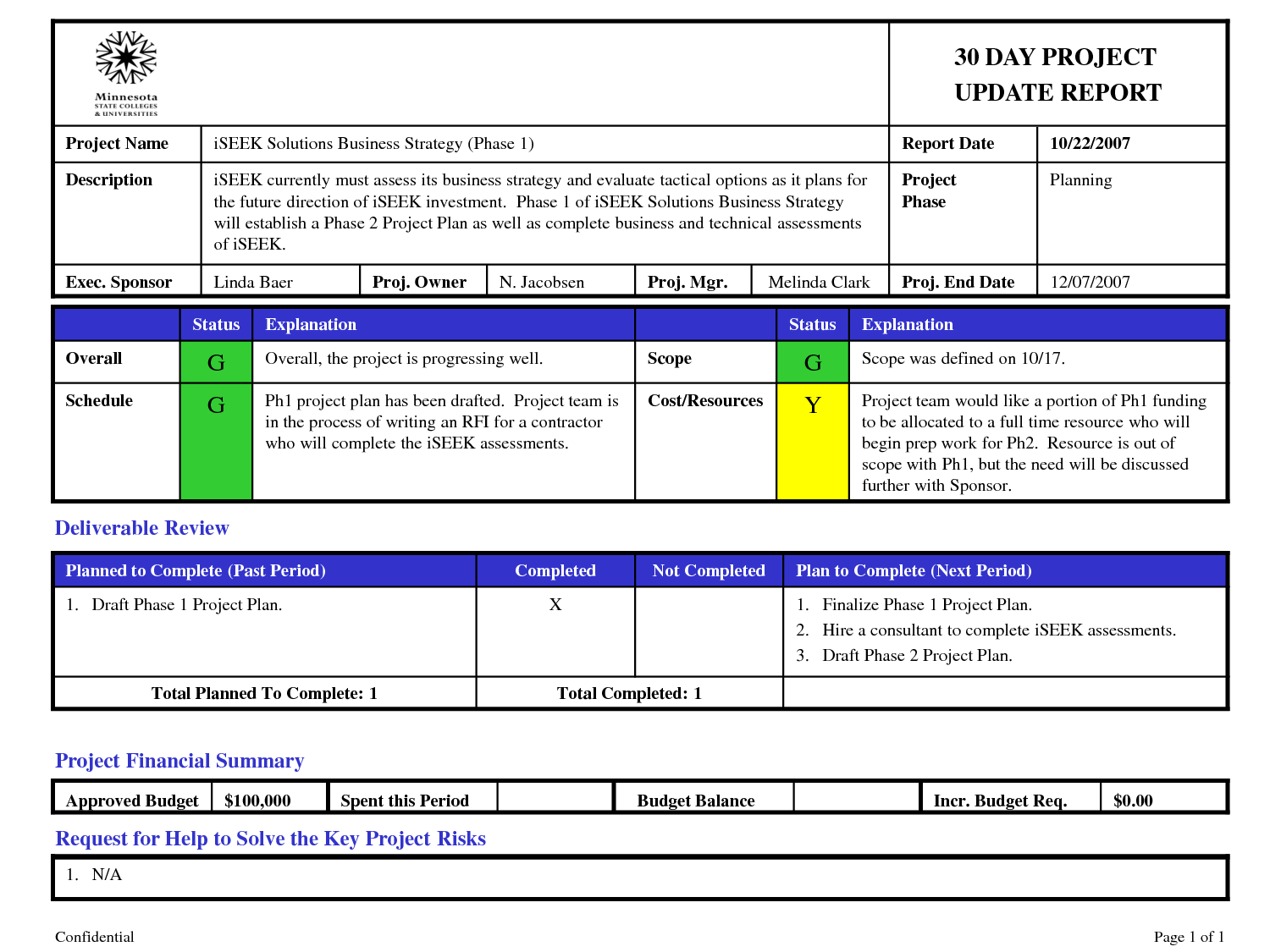 Project Portfolio Management Template  Google Search  Work