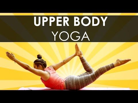 bow pose with asha  42yogis  upper body workout