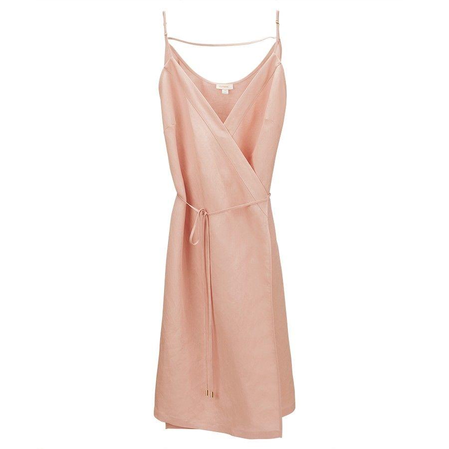 8914520efb Linen Wrap Dress