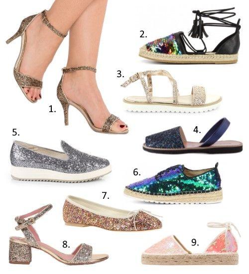 tendances chaussures printemps et 2017 les paillettes tendance 2016 17 sandals shoes et. Black Bedroom Furniture Sets. Home Design Ideas