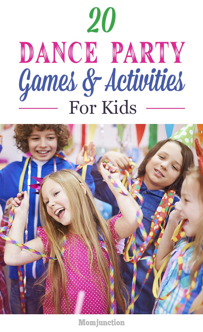 party dance games for kids