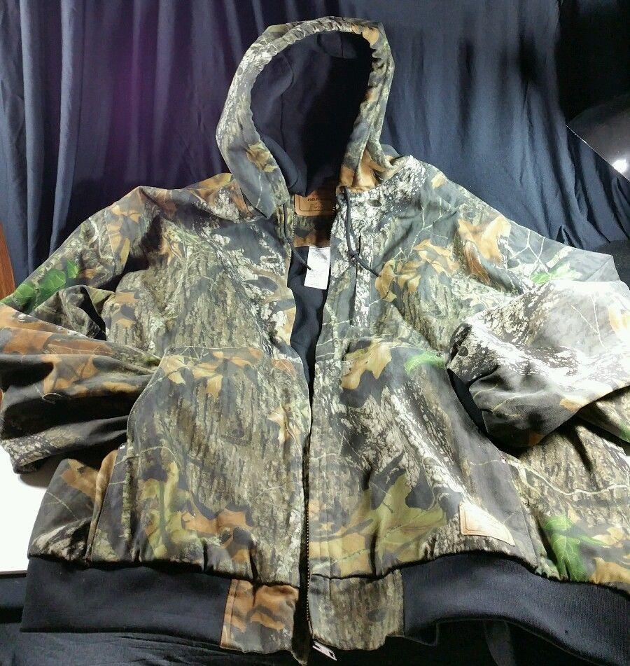 dc65cc1e6e9aa Camouflage Jacket Hooded Levi Strauss Signature Field Gear Hunting Sz 3XL  #LeviStraussSignature #FlightBomber