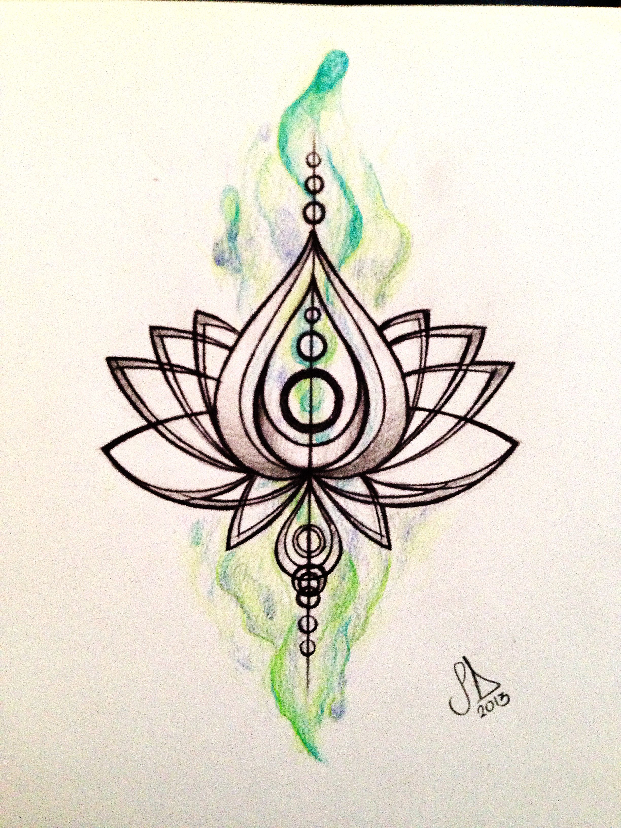 Sweet lotus drawing tattoo pinterest lotus and tattoo sweet lotus drawing simple lotus tattoolotus flower izmirmasajfo