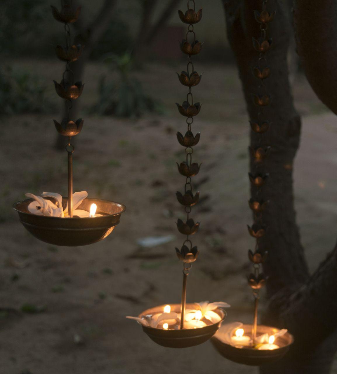 Niloufer Diya - Large   Candles, Candle lanterns, Indian decor